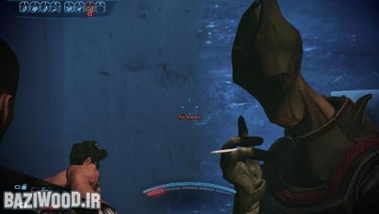 یک Salarian در DLC جدید بازی Mass Effect 3 با نام Citadel اون هم در حال سیگار کشیدن! وقتی از کنارش رد میشدم گفت: بیخیال من شو! امان از دست Bioware