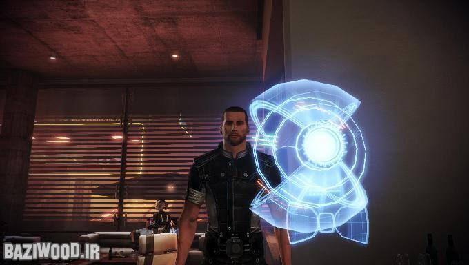 مربوط به Mass Effect: Citadel DLC که در هنگام جشن Glyph با کسب اجازه از شپرد میگوید که میخواهد تغییر در ظاهرش دهد. چند ثانیه بعد اورا اینگونه میبینیم! با پاپیونی در گردن نداشته اش!