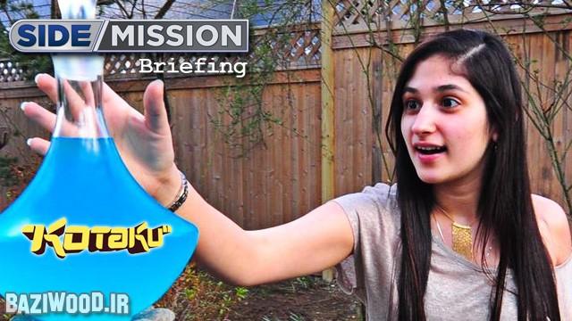 تینا امینی در یکی از برنامه های Side Mission سایت گیم تریلرز