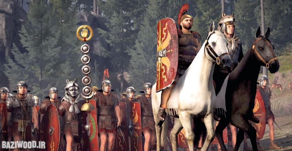 بازی در نقش سربازان رومی هیجان خاصی دارد!