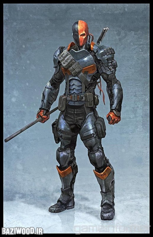 Slade Wilson ملقب به DeadStroke؛ یکی از اصلی ترین دشمنان بتمن در این شماره.