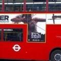 تبليغات Tomb Raider روي اتوبوس