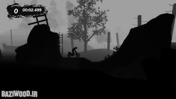 یکی از مراحل بازی موتورسواری Trials: Evolution برای کامپیوتر که به سبک بازی Limbo طراحی شده است. البته سازندگانش از سازندگان بازی لیمبو اجازه گرفته اند.